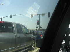 Natomas Traffic Intersection