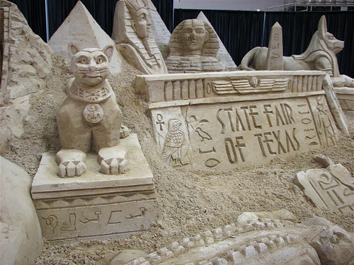 Sand Sculpture by you.