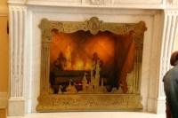 Fireworks over Sleeping Beauty castle fireplace - Disney ...