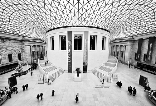 At The British Museum by Philipp Klinger