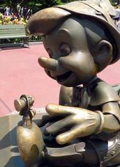 Pinocchio 'n' Jiminy Cricket