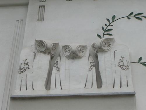 Secession Hall detail, Vienna