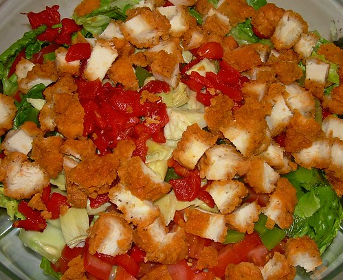 Salad with Wings