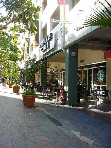 One of 3 Starbuck's in Condado