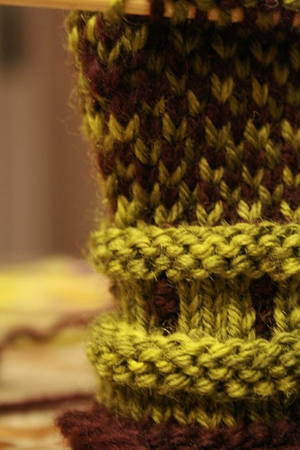 Colorworked & cabled, the strongest wind in the world isnt getting through!