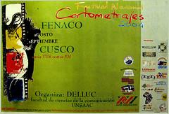Afiche Convocatoria I FENACO Cusco
