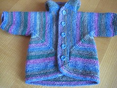 69-08 Baby Surprise Jacket 4 front