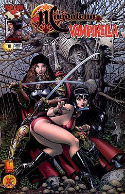 Arrempujadera con Magdalena de Chaos comics