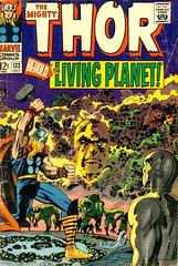 Capa The Mighty Thor #133 - The Living Planet - CLIQUE PARA AMPLIAR ESTA IMAGEM