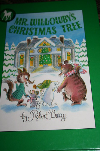 My favorite Christmas book as a child-Mr. Willowby's Christmas Tree