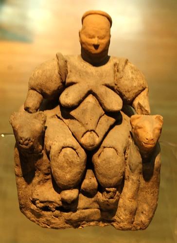 Symbol: Anatolian Goddess of Fertility; Ankara, Turkey