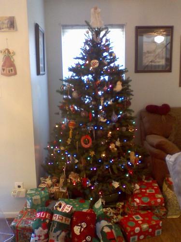 Christmas Morning Tree