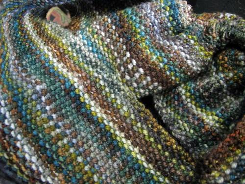 Koigu Linen Stitch Scarf
