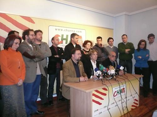 CHA suspende la campaña electoral