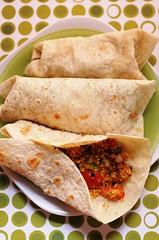 Burritos overhead