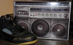 Air Jordans and Boombox Gelaskin