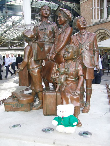 Kindertransport memorial at Liverpool Street Station