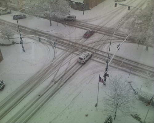 Snow from the 6th floor