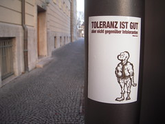Toleranz ist Gut