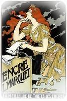 Eugene Grasset. Suzy Deguez, 1895.