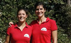 Marga y Mari - Trof. Muebles Rey, Club de Tenis