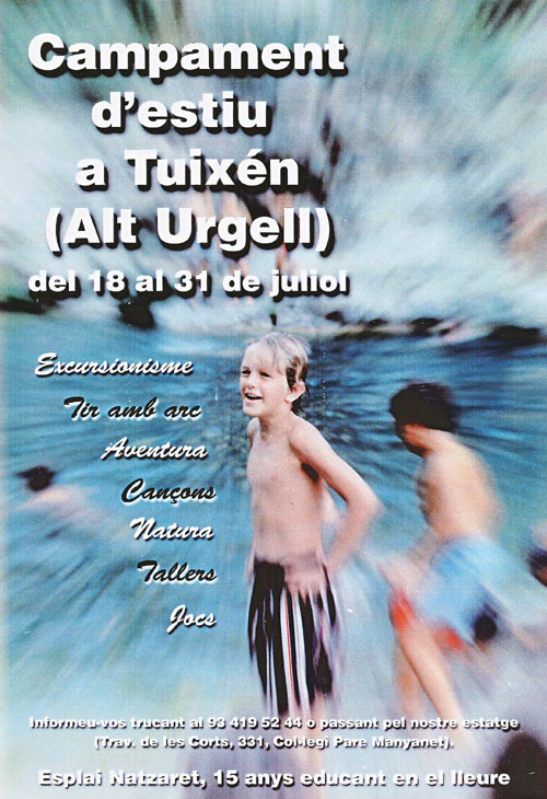 Campaments a Tuixén, 1999