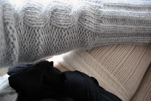 Grey Plush Cardigan