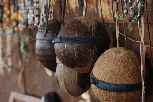 Cocos + cremalleras = bolsos
