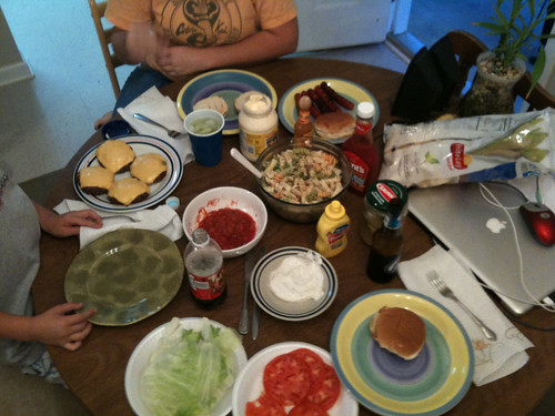 Pre Fun Bowl dinner
