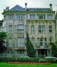 Henri Van de Velde. Hotel Deprez en Bruselas.