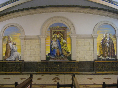 Side of the Immaculate Conception Chapel, Ste Anne Basilica