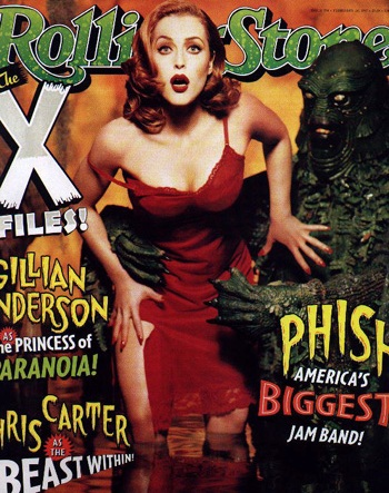 GILLIAN ANDERSON - THE X FILES - ROLLING STONE