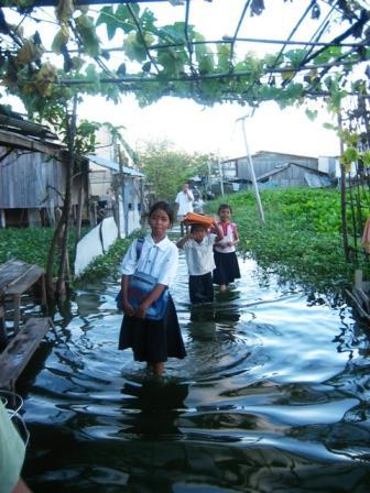 Flooding at Boeung Kak