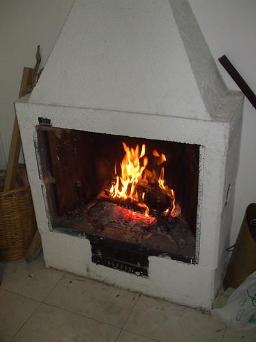 Dopo tanta fatica, il fuoco