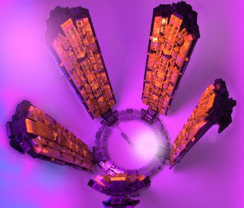 LEGO microscale Mass Effect Citadel