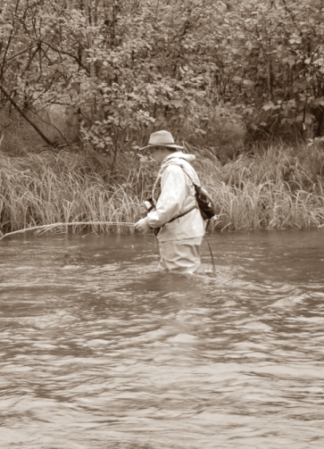 Old Timey Fly Fishin