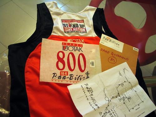 10km Botak Paabilisan Singlet #800