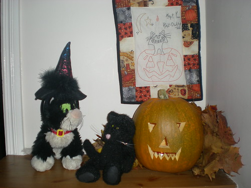 Stitchery and Halloween Decorations