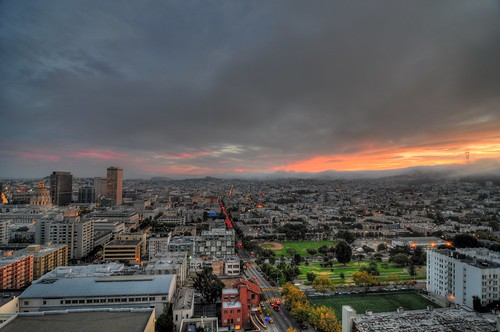 Dusk over the Mission