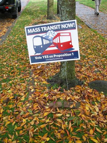 Mass Transit & Fall Leaves