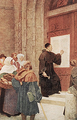 Luther's 95 theses by honecr5