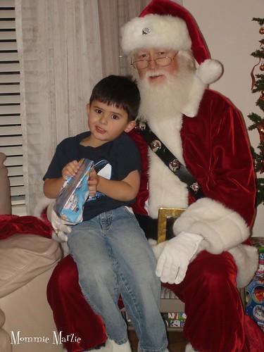 Jay and Santa