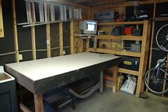 new garage / workshop setup