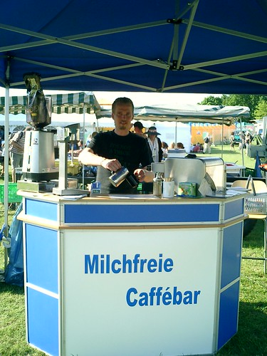 Milchfreie Caffèbar