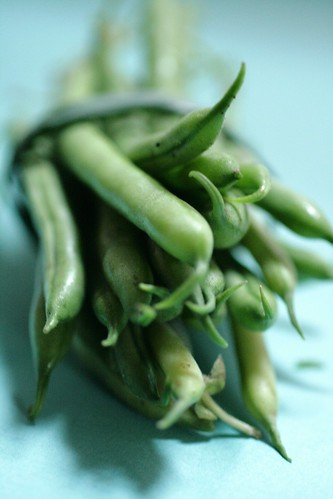 Bundle of green beans