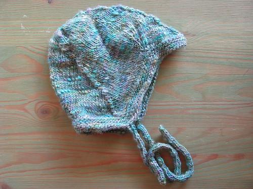 Tussah Silk Newborn Hat