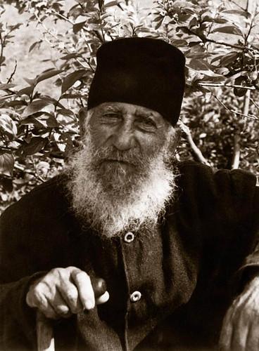 Fr. Timotheos at Stavroniketa Monastery