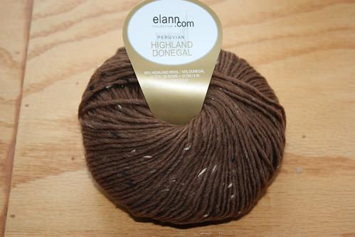 Elann Peruvian Highland Donegal #1162 hazelnut