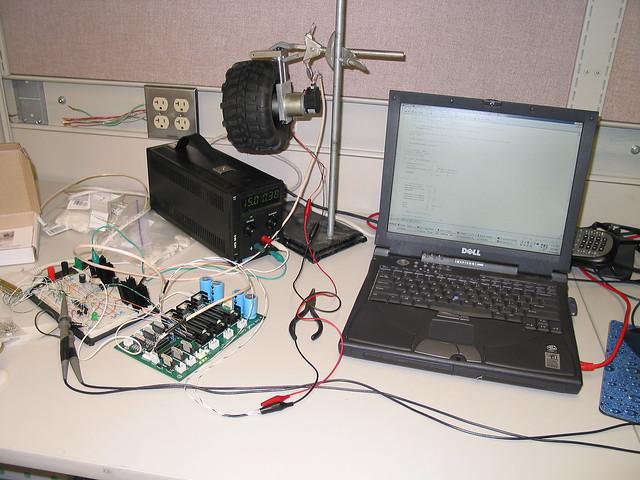 Motor controller testing