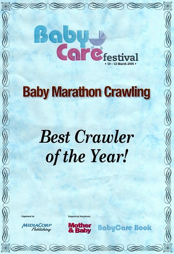 Baby Crawling Contest